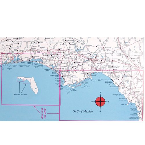 top spot fishing map n228 gulf of mexico offshore