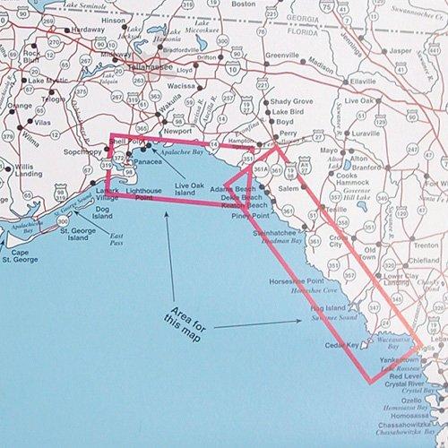 Panacea Florida Map.Top Spot Fishing Map N231 Panacea To Apalachee Bay Area