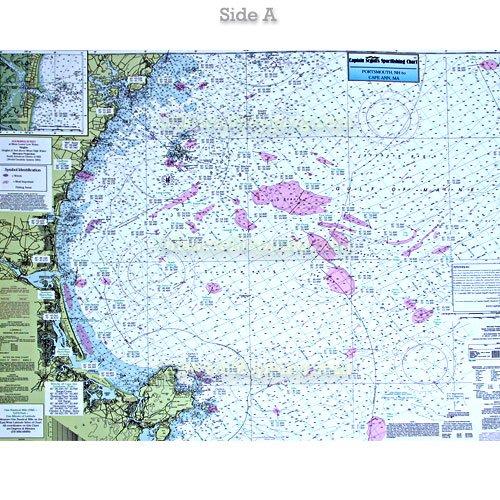 Ca201 Cape Ann Massachusetts Jeffreys Ledge Bathymetric