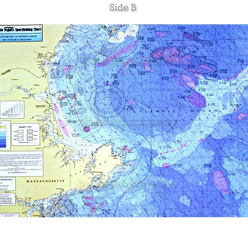 Ca201 Cape Ann Massachusetts Jeffreys Ledge Bathymetric Offshore