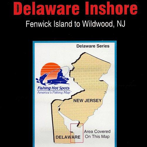 De0101 fishing hot spots delaware inshore fenwick for Best fishing spots in nj