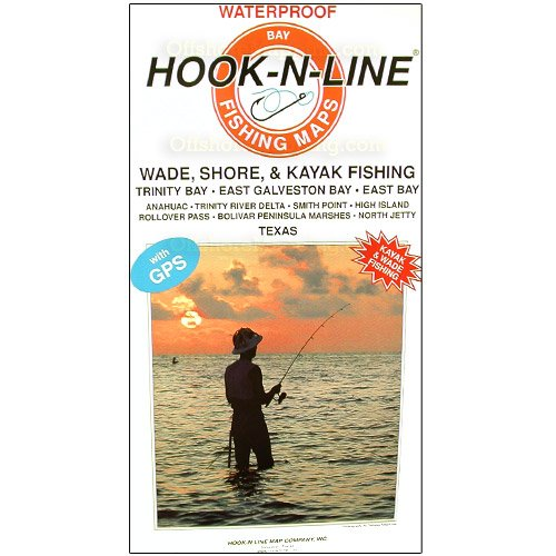Hook-N-Line F134 Pêche Map for Mesquite Bay Area