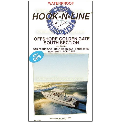 Hook-N-Line Fishing Map F202, Offshore Golden Gate-South