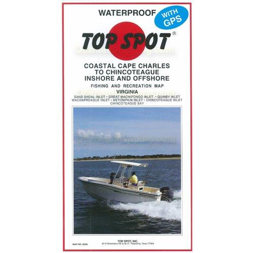 Top Spot Map N243 Offshore N.C.