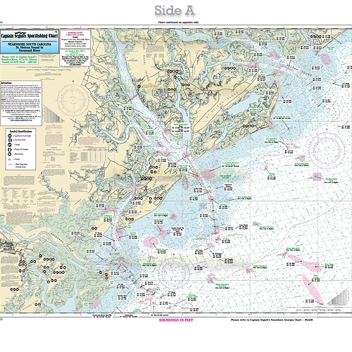 Hunting Island Sc Map