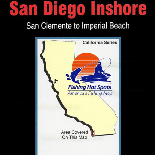 Ca0101 fishing hot spots san diego inshore san for Fishing lakes in san diego