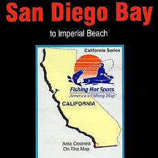 CA0102, Fishing Hot Spots, San Diego Bay to Imperial Beach ...