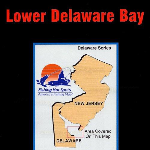 De0102 fishing hot spots lower delaware bay for Fishing hot spots