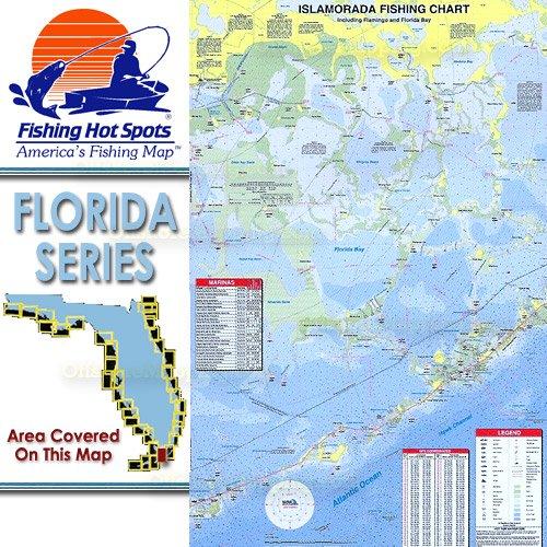 FL Fishing Hot Spots Islamorada Including Flamingo And - Fishing hotspot maps