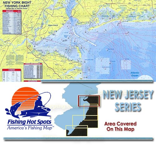 Nj0104 fishing hot spots new york bight raritan bay to for Best saltwater fishing spots in nj