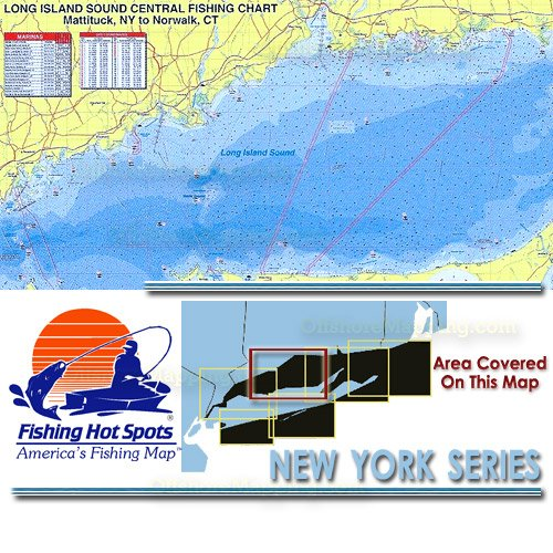 Ny0104 fishing hot spots long island sound central for Long island sound fishing